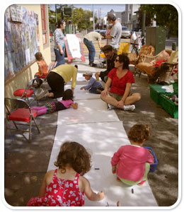 Family Art Day at the Red Poppy Art House